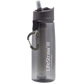 LifeStraw Go 2-Stage Botella con filtro de agua, gris